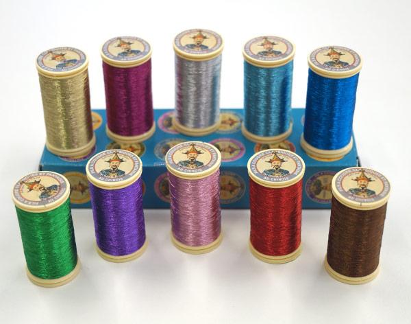 Металлизированные нитки для вышивки 244